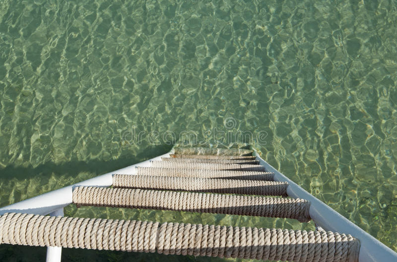 Download Steps Going Down Into The Sea Stock Image - Image of diminishing, lagoon: 26187603