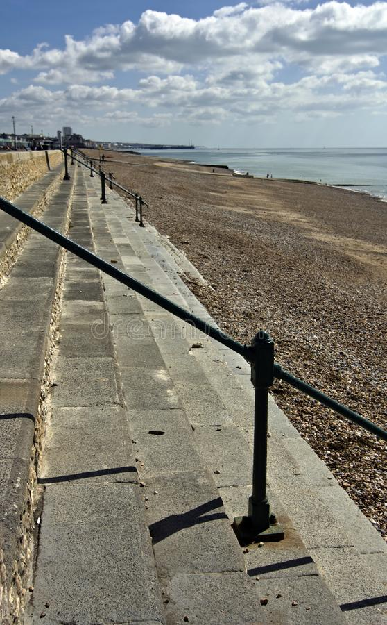 Download Steps on beach stock image. Image of beach, hove, cement - 15994603