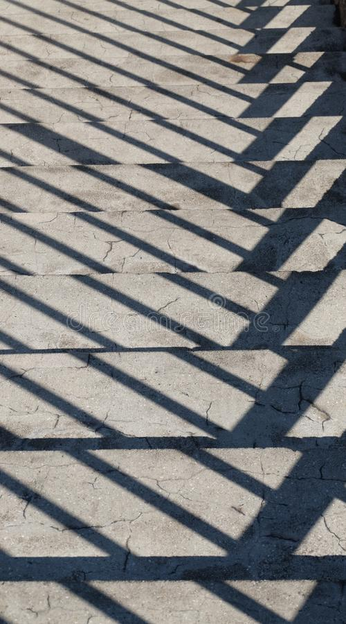 Steps. Shadow on granite steps, abstract background royalty free stock images