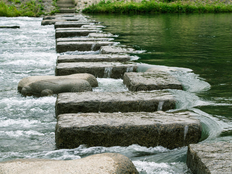 Download Steps to the Goal stock photo. Image of road, lane, river - 25450456