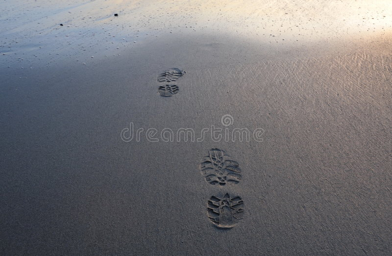 Steps to ocean royalty free stock images