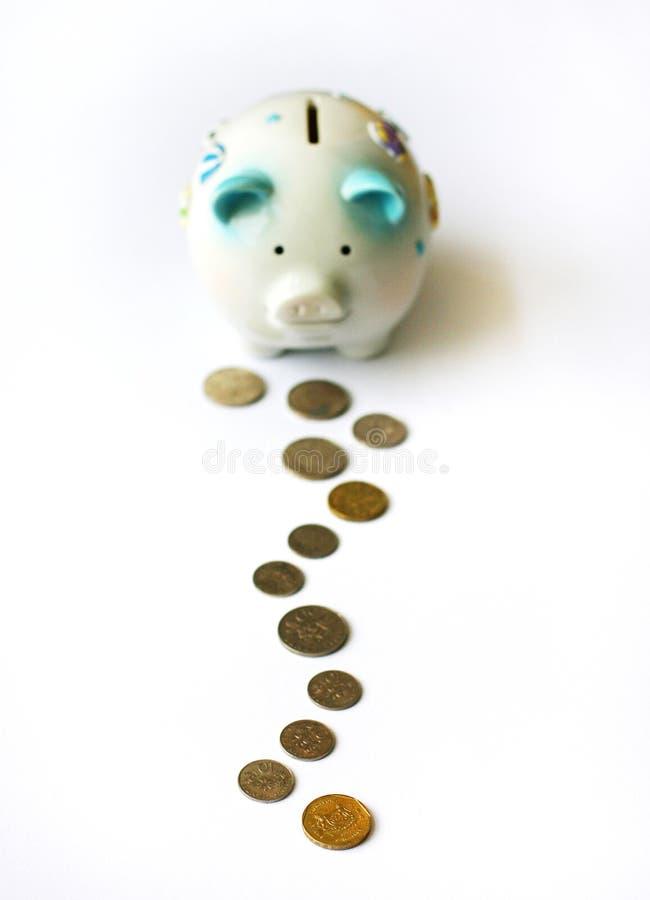 Steps to Saving Up stock image