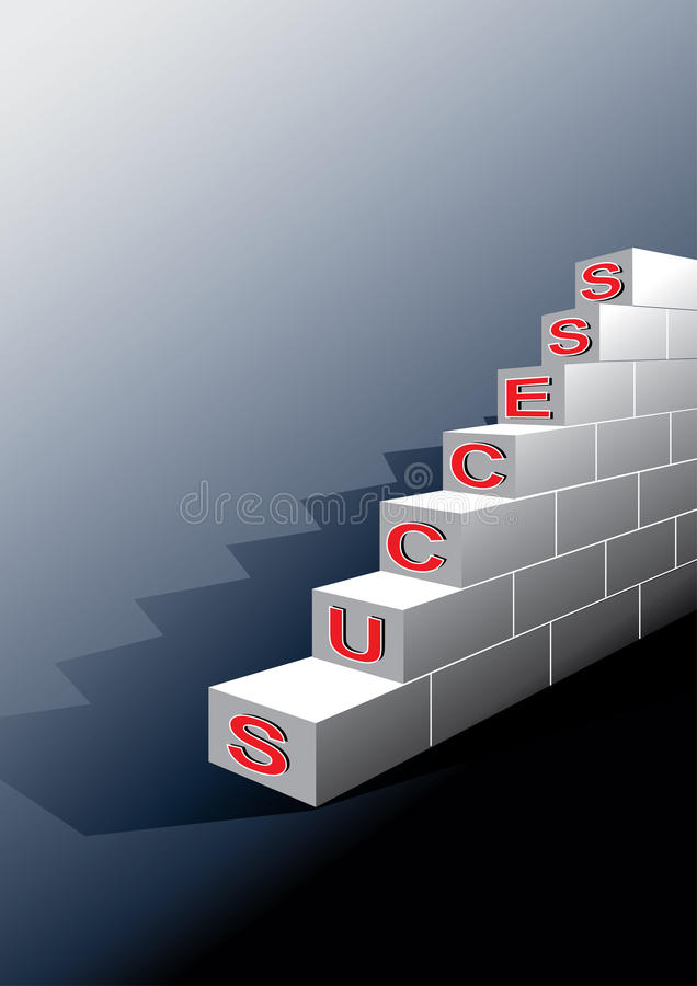 Steps To Success Stock Photos