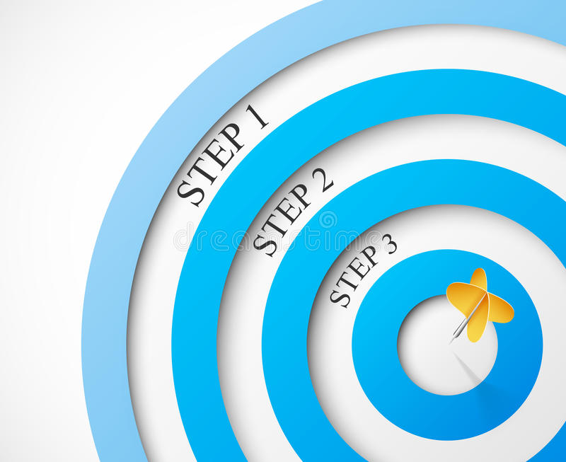 Download Steps To The Target Royalty Free Stock Photo - Image: 25831275