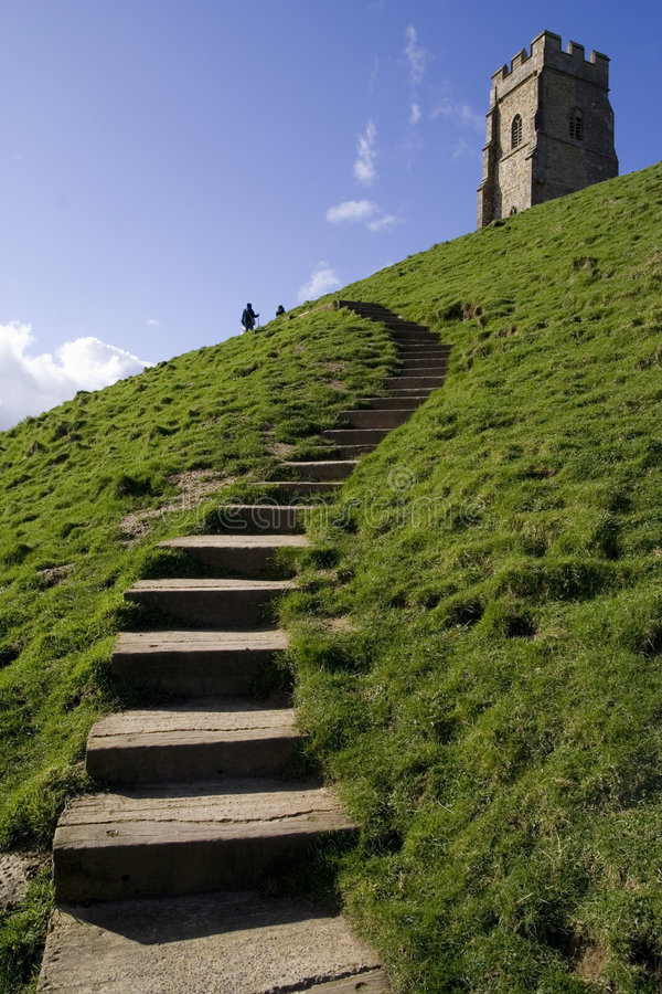 Free Steps Up To Glastonbury Tor Stock Photos - 2074253