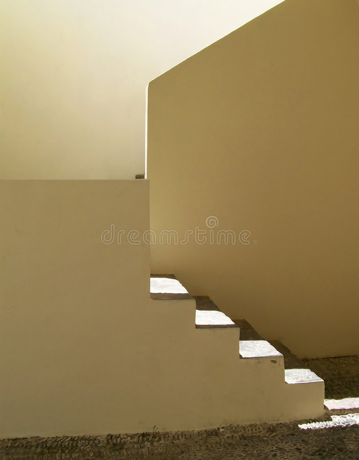steps warm 免版税库存图片