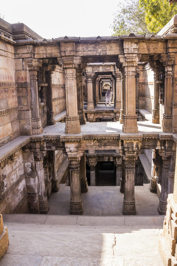 Stepwell, Ahmedabad royalty free stock images