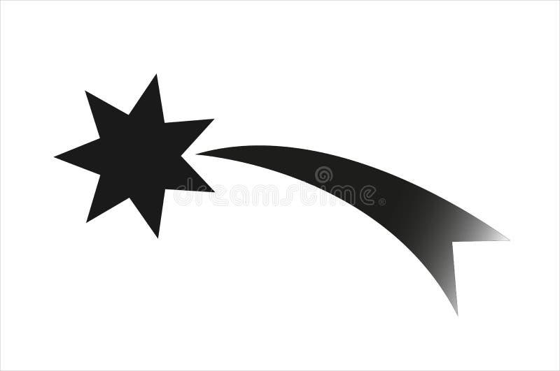 Ster, Kerstmis, boom, vector, illustraties, pictogram, Kerstmisboom, symbool, illustratie vector illustratie