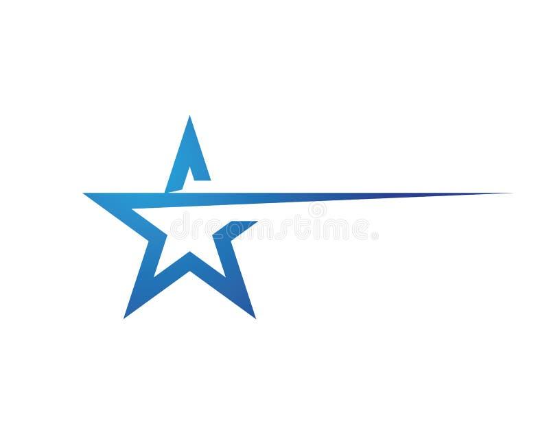 Ster Logo Template royalty-vrije illustratie