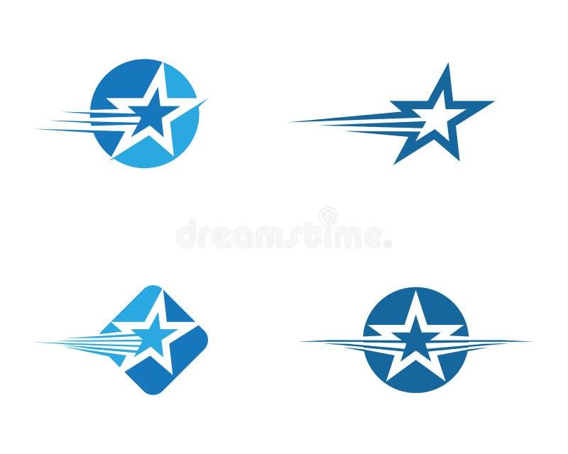 Ster Logo Template stock illustratie
