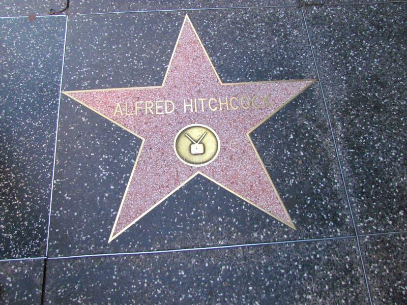 Ster op Hollywood-boulevardgang van bekendheid in La royalty-vrije stock foto