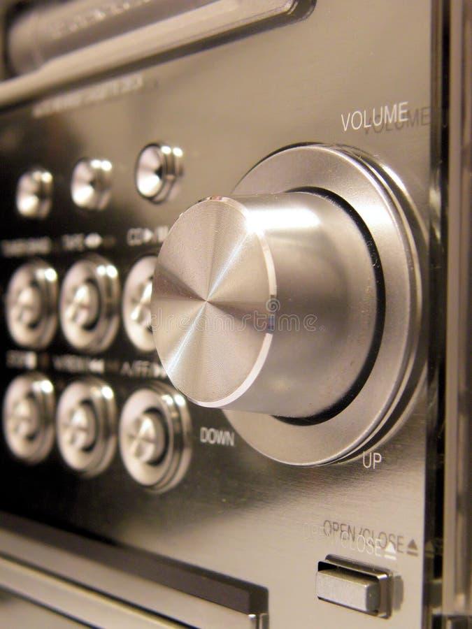 stereo детали стоковое фото rf
