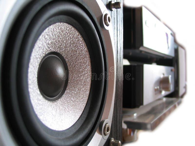 stereo royaltyfri foto