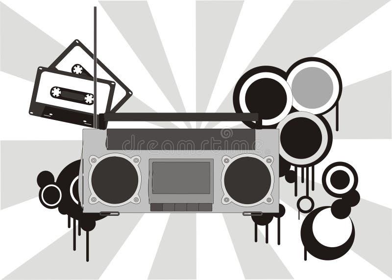 stereo ilustracyjny ilustracji