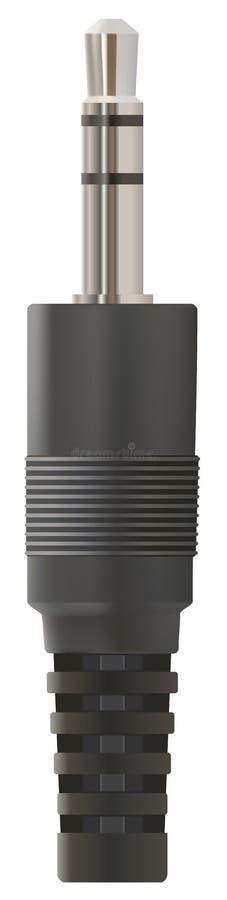 Download Stereo jack stock illustration. Illustration of audio - 11339067