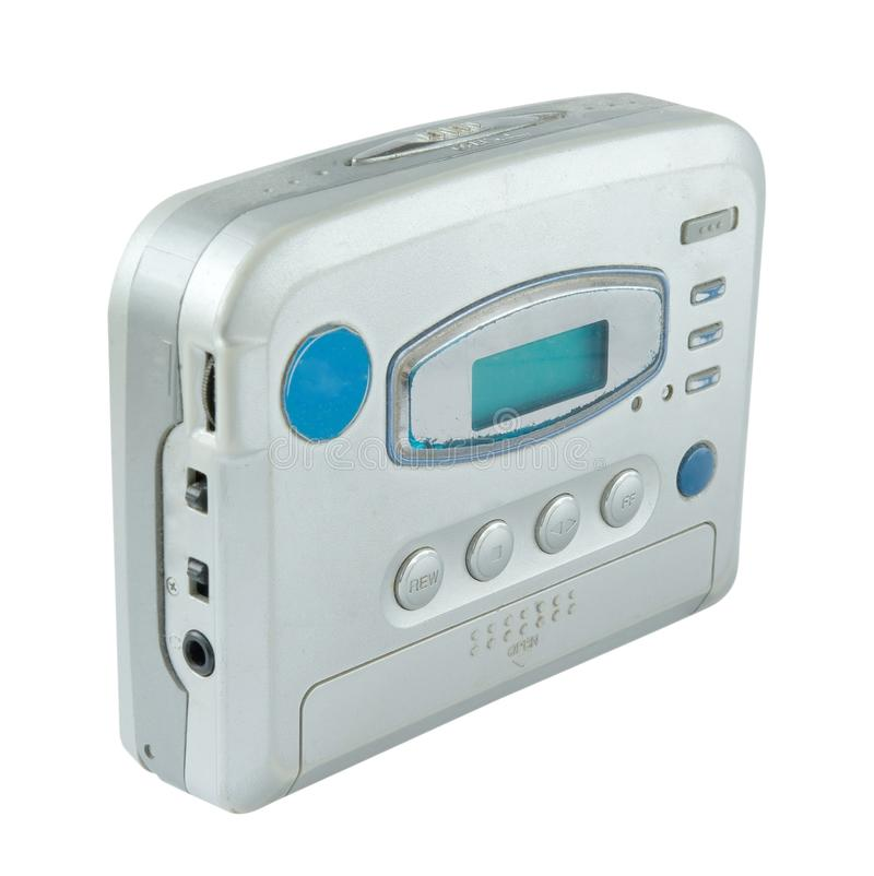 Stereo radio cassette player stock images
