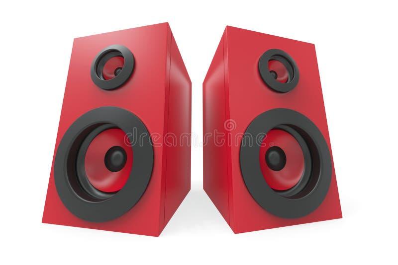 Download Stereo speakers stock illustration. Image of hi, audio - 28828718