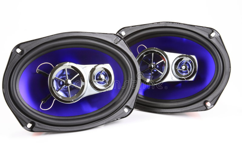 Download Stereo Speakers stock photo. Image of music, stereo, audio - 3784128