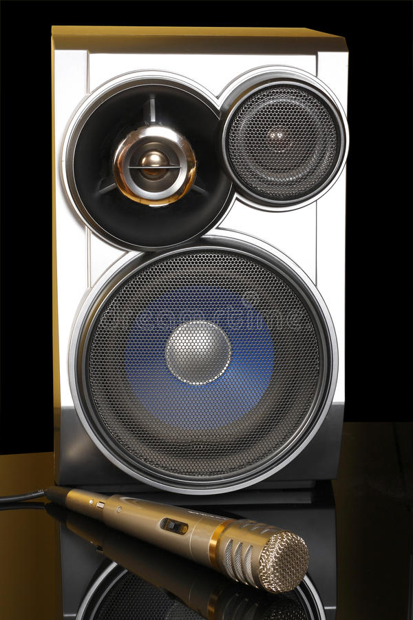 Download Stereo With Speakers And Microphone Stock Photo - Image: 14524860