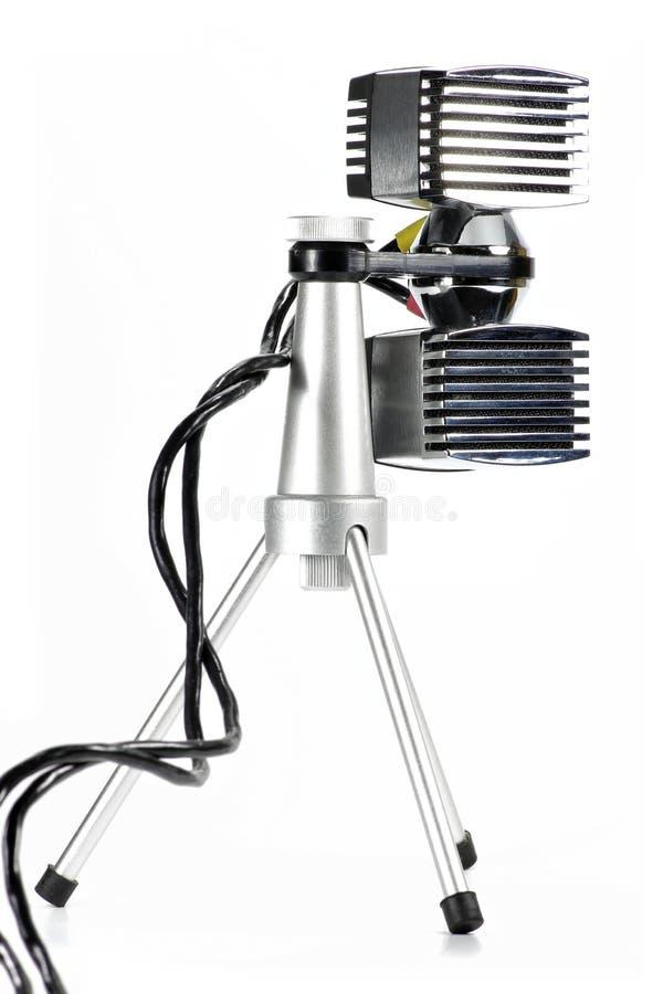 Stereomikrofon stockbilder