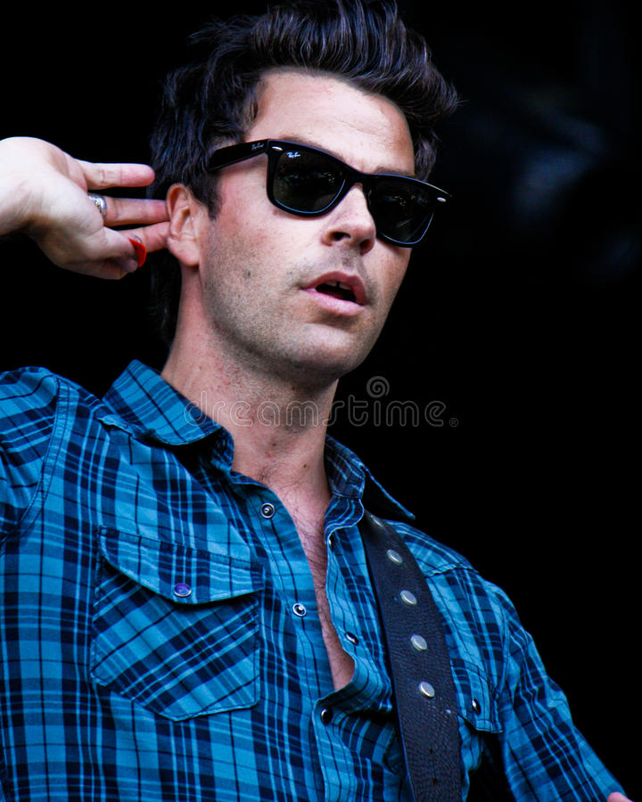 Stereophonics imagens de stock royalty free