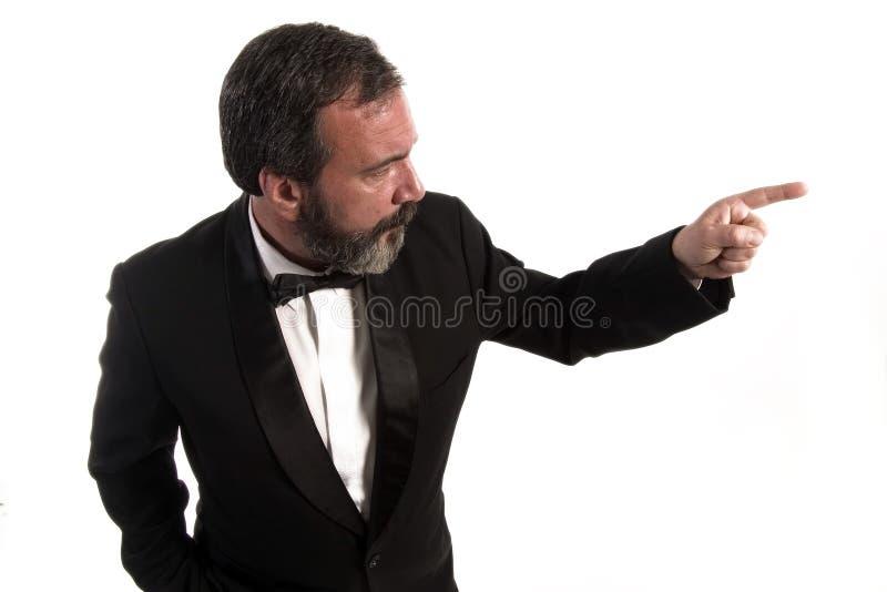 Sterke vinger stock afbeelding