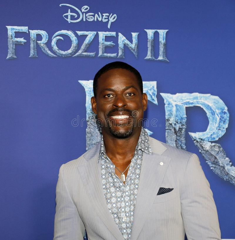 Sterling K. Brown royalty free stock images