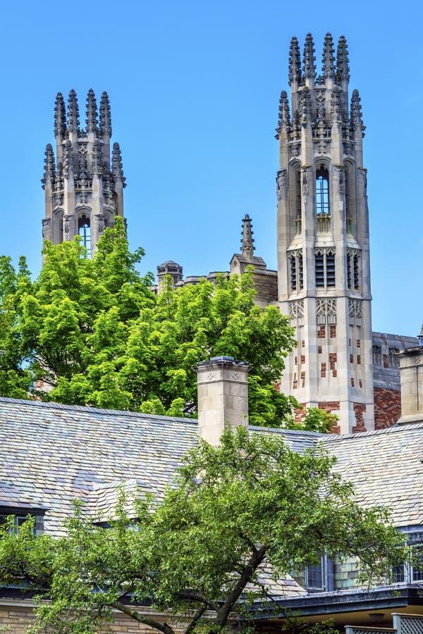 Sterling Law School Bmmer Yale-Universität New-Haven Connecticut lizenzfreie stockbilder