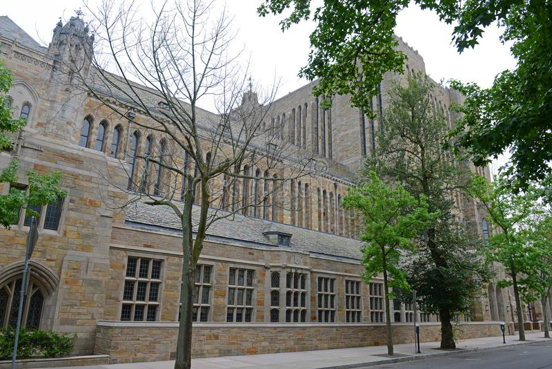 Sterling Memorial Library, Yale University, CT, USA lizenzfreies stockfoto