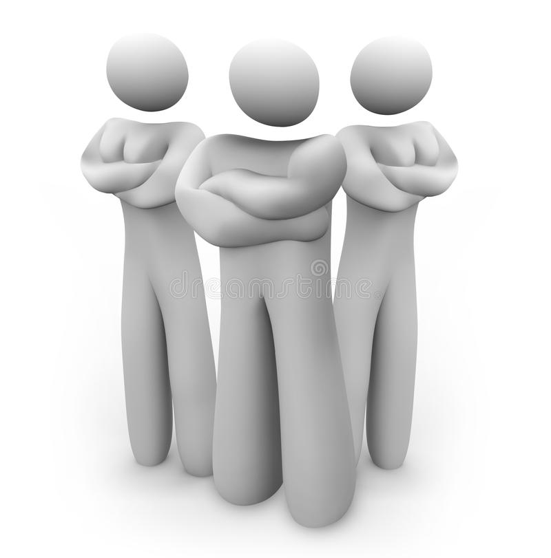 Download Stern Arm Crossed Mad People - We Mean Business Stock Illustration - Image: 31865008