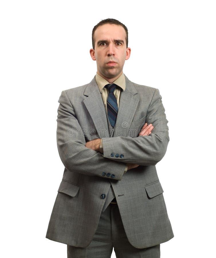 Stern Businessman stock photos