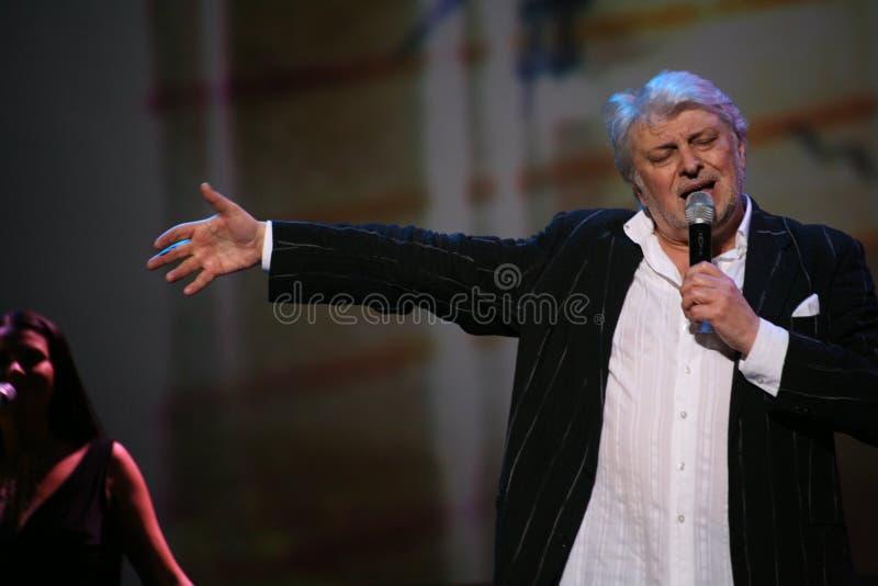 Stern der russischen und sowjetischen Musik, Idol der beliebten Musik, ehrte Mann, Millionär, Autor, Sänger, Komponist Vyacheslav lizenzfreies stockfoto