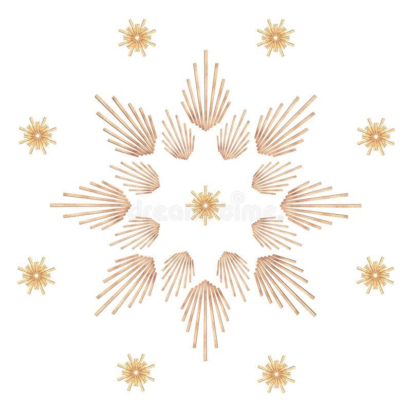 Stern der Strahlen vektor abbildung