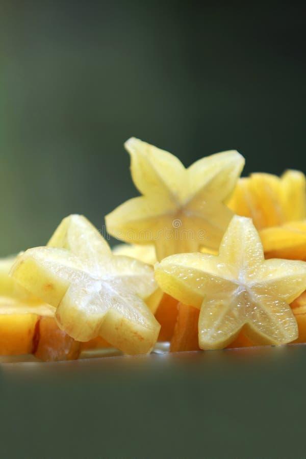 Stern-Früchte lizenzfreies stockfoto