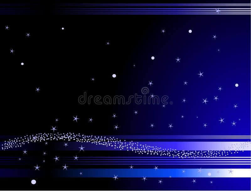 Stern-Hintergrund lizenzfreie abbildung