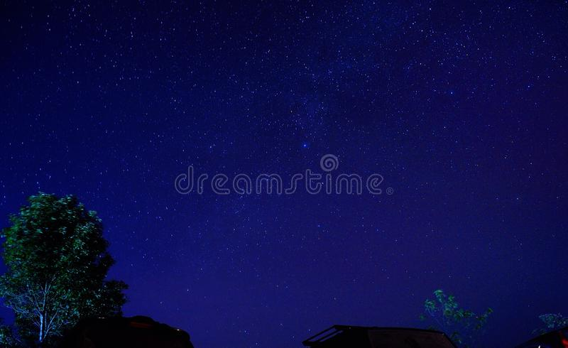 Stern im Himmel stockbilder