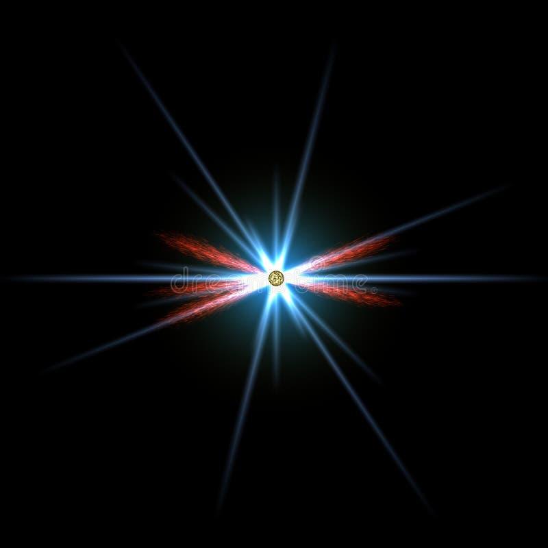 Stern im Platz vektor abbildung