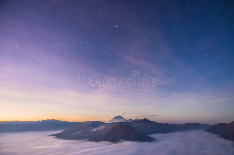 Stern und Himmel lizenzfreies stockfoto