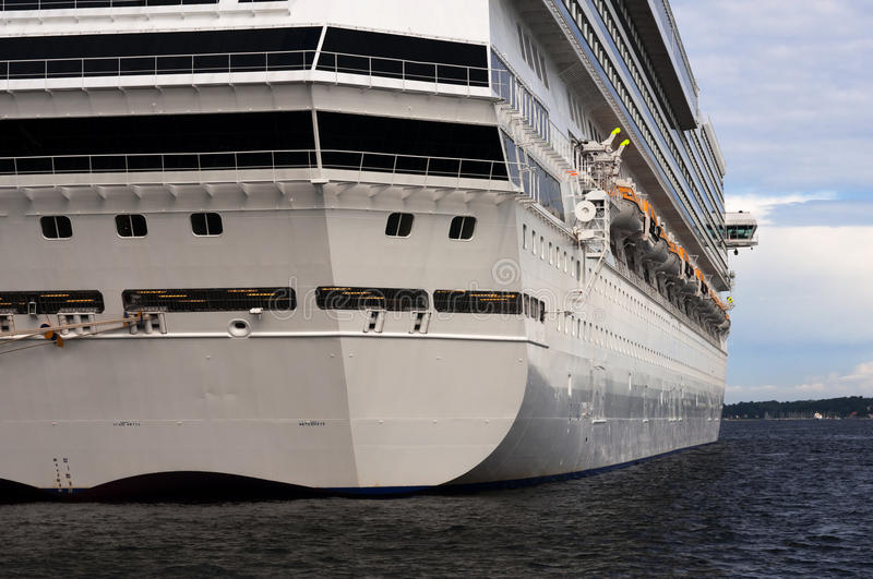 Download A Stern View Of A Large Cruise Ship In Port Royalty Free Stock Photo - Image: 16110445