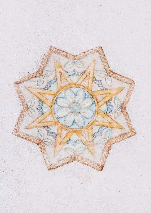 Sternchen-Vereinbarung achteckiger Stern lokalisierte weißes stockfotos