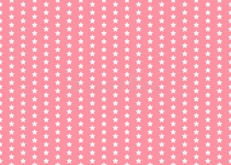 Sternchen-Vereinbarung Lustiger Druck Platz für Exemplar/Text Vektorillustration mit kleinen Sternen Einfache Kinder entwerfen EP stock abbildung