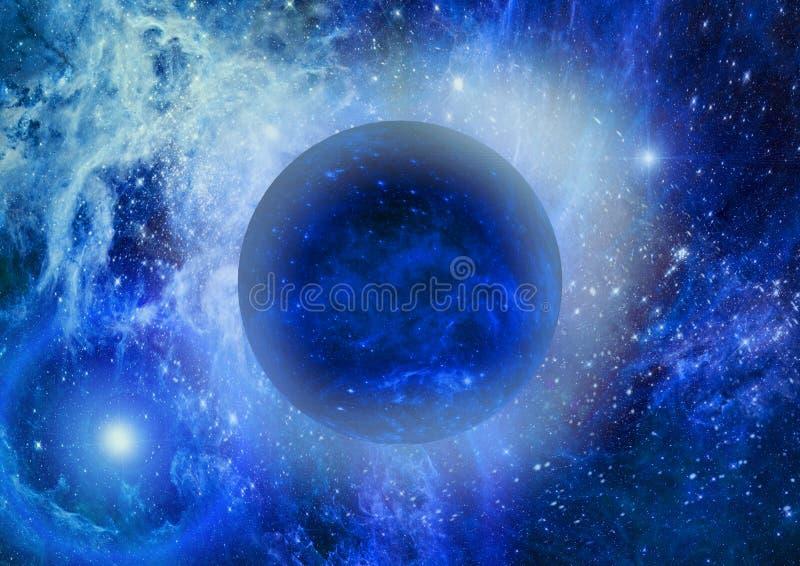 Sterne eines Planeten lizenzfreie abbildung