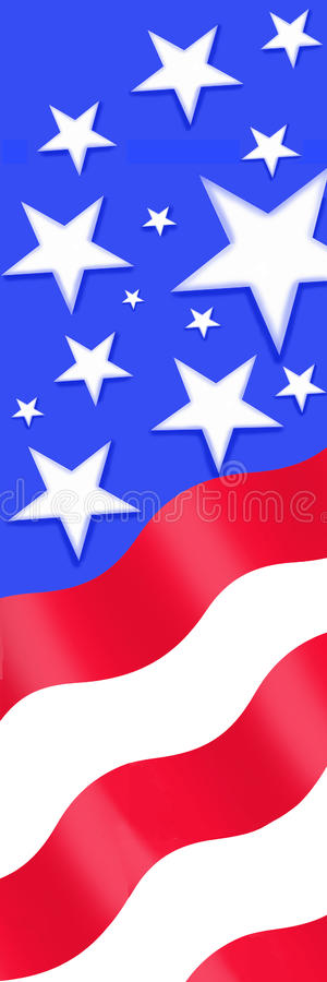 Sterne Stripes#2 stockbilder
