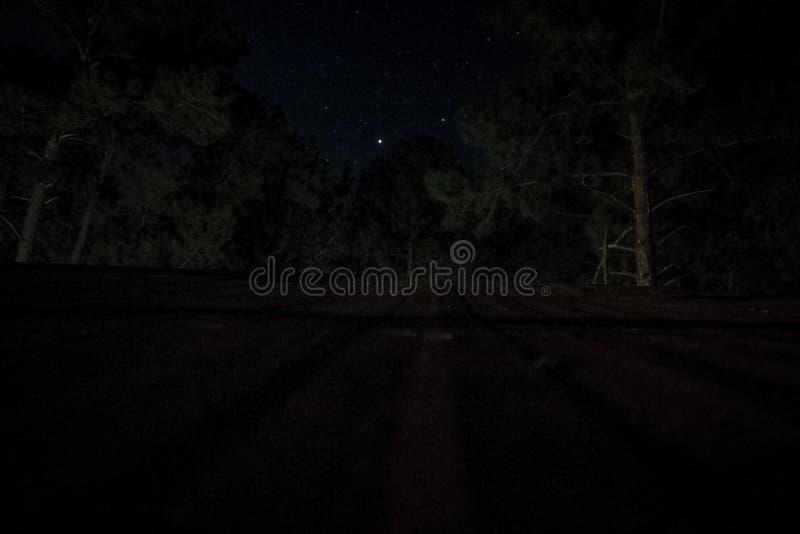 sternenklare Dachspitze stockfoto
