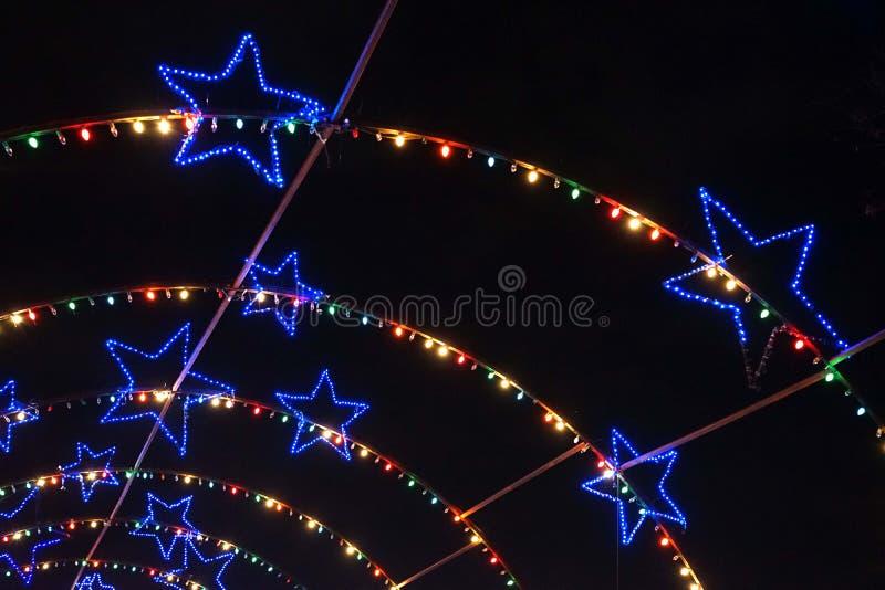 Sternenklare, sternenklare Nacht lizenzfreies stockfoto