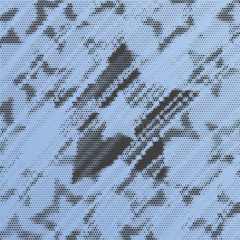 Sternenklarer Grunge Hintergrund vektor abbildung