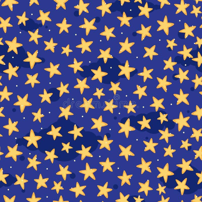 Download Sternenklarer Himmel vektor abbildung. Illustration von dunkel - 26366001