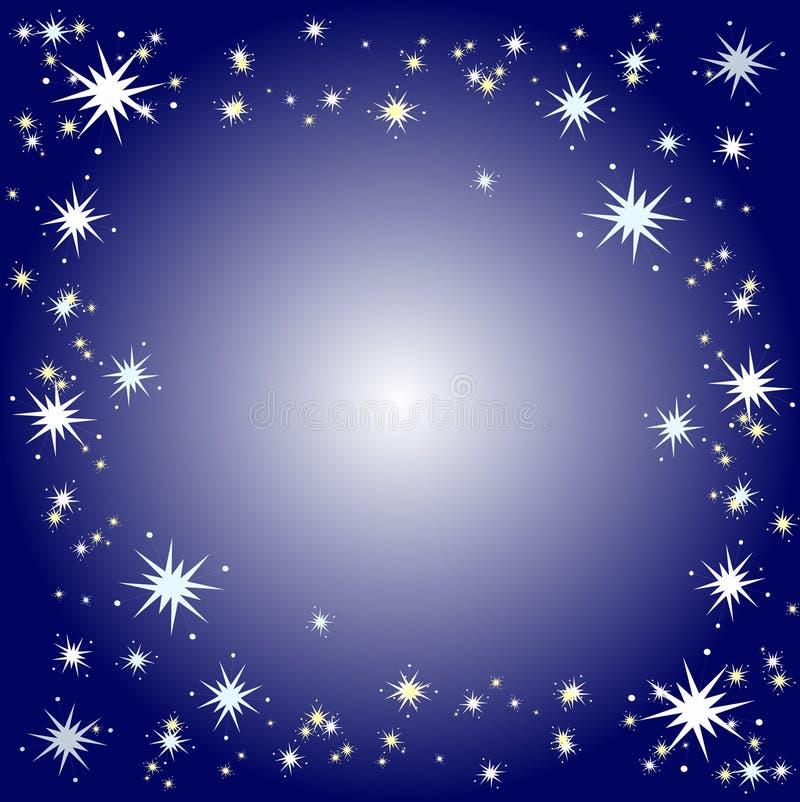 Sternenklarer Hintergrund vektor abbildung