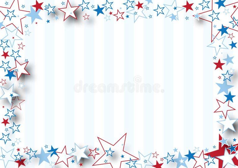 Sternenklarer Rand lizenzfreie abbildung