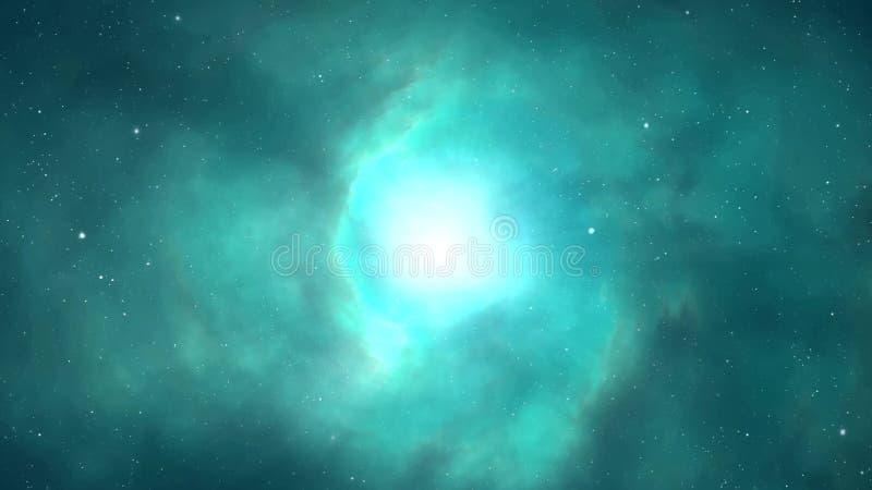 Sternenklares Video Des Universums Hd Des Galaxienächtlichen Himmels